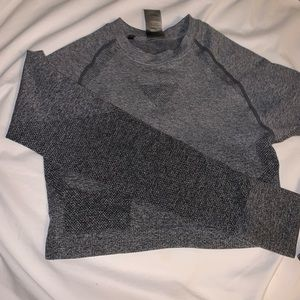 gymshark cropped long sleeve!!
